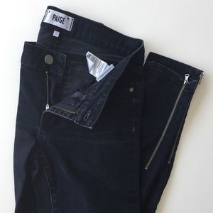 PAIGE Demin - Ankle w/ Zipper detail